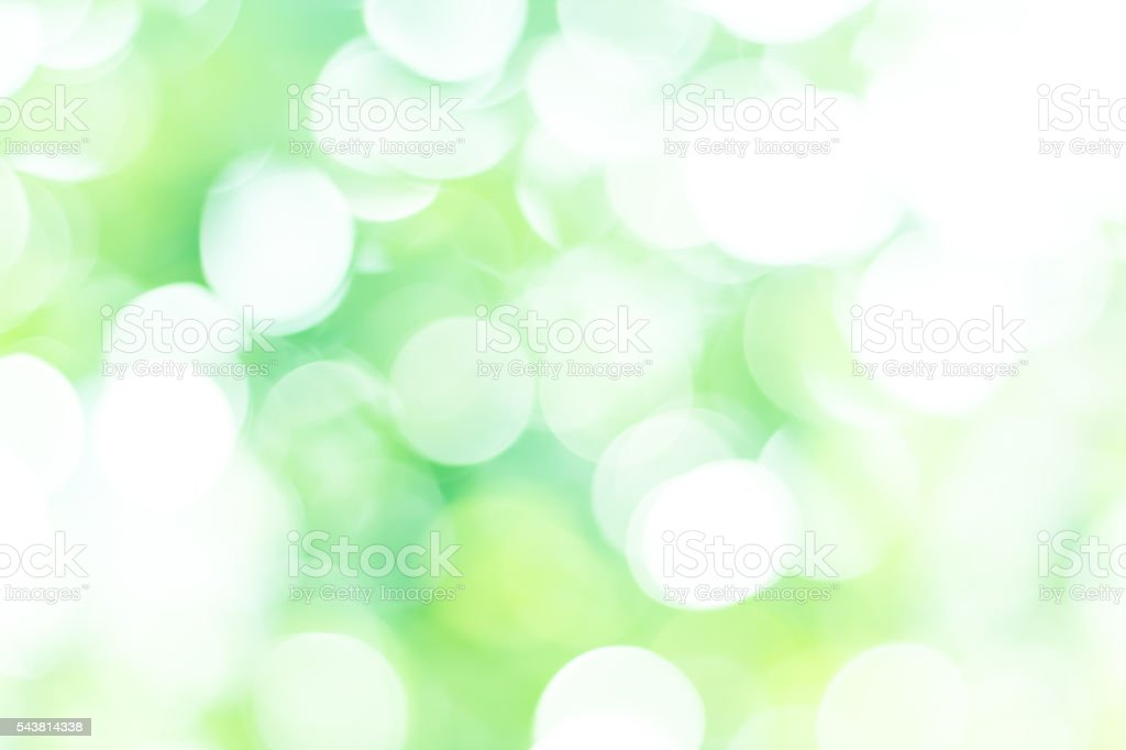 Abstract over blur forest and sky and flower with Bokeh stock photo