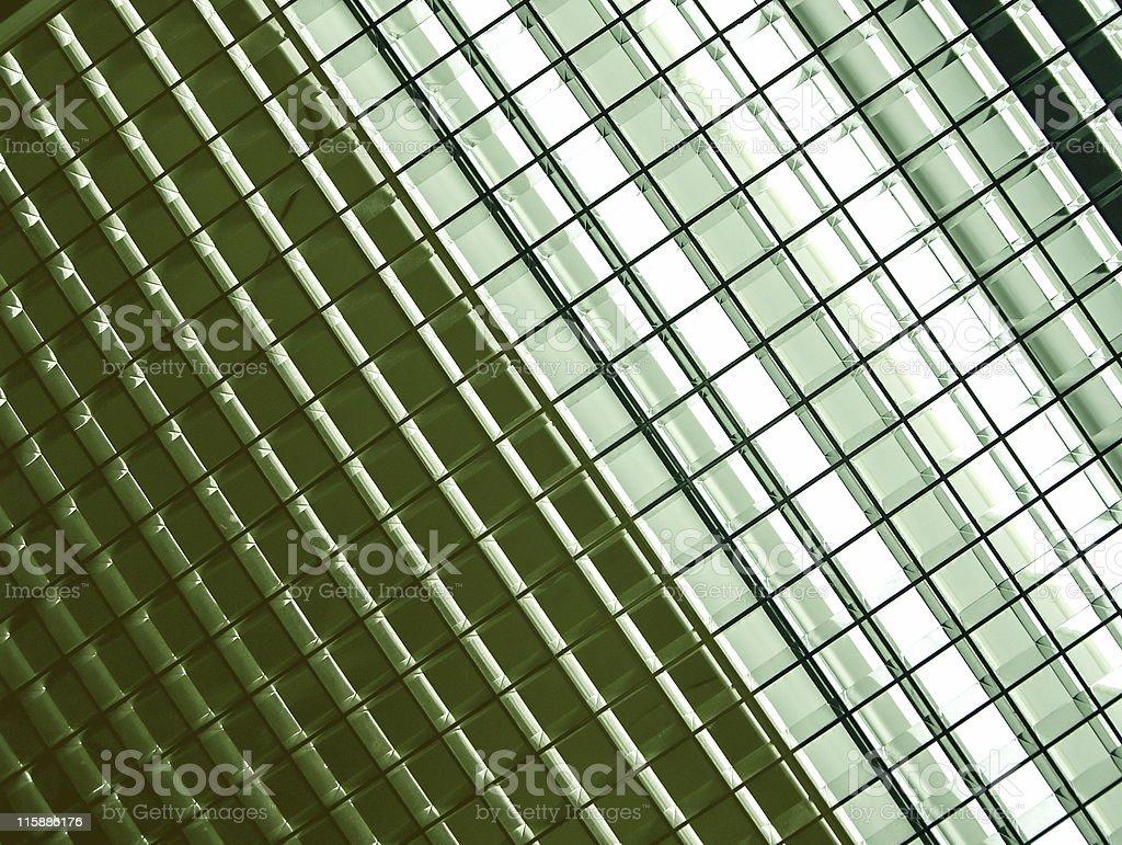 Abstract - Overhead Lighting Fixture royalty-free stock photo