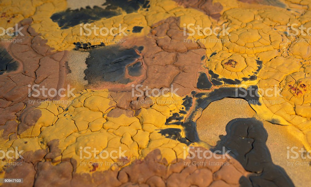 abstract paint structure royalty-free stock photo