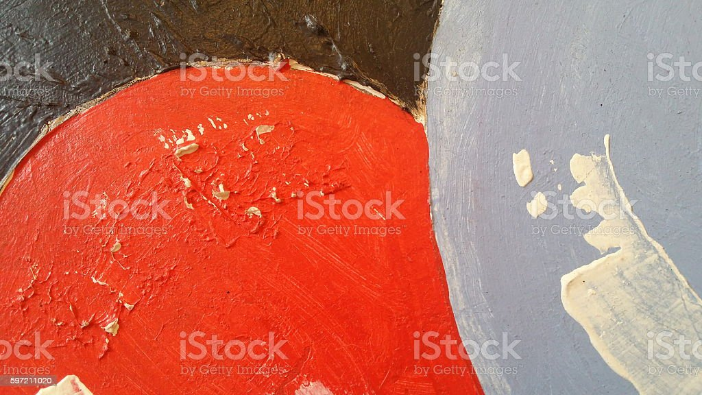 Abstract painted background texture - Illustration stock photo