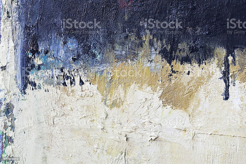 Abstract painted black and white art backgrounds. royalty-free stock photo