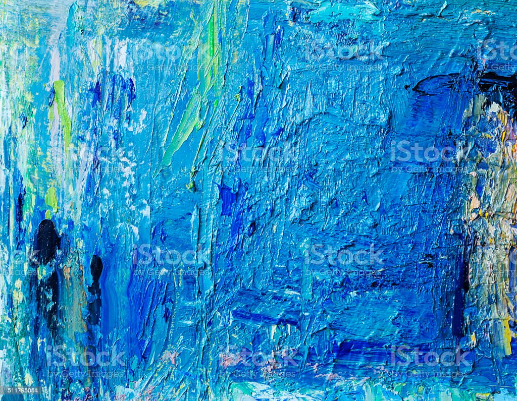 Abstract painted blue  and green art backgrounds. vector art illustration