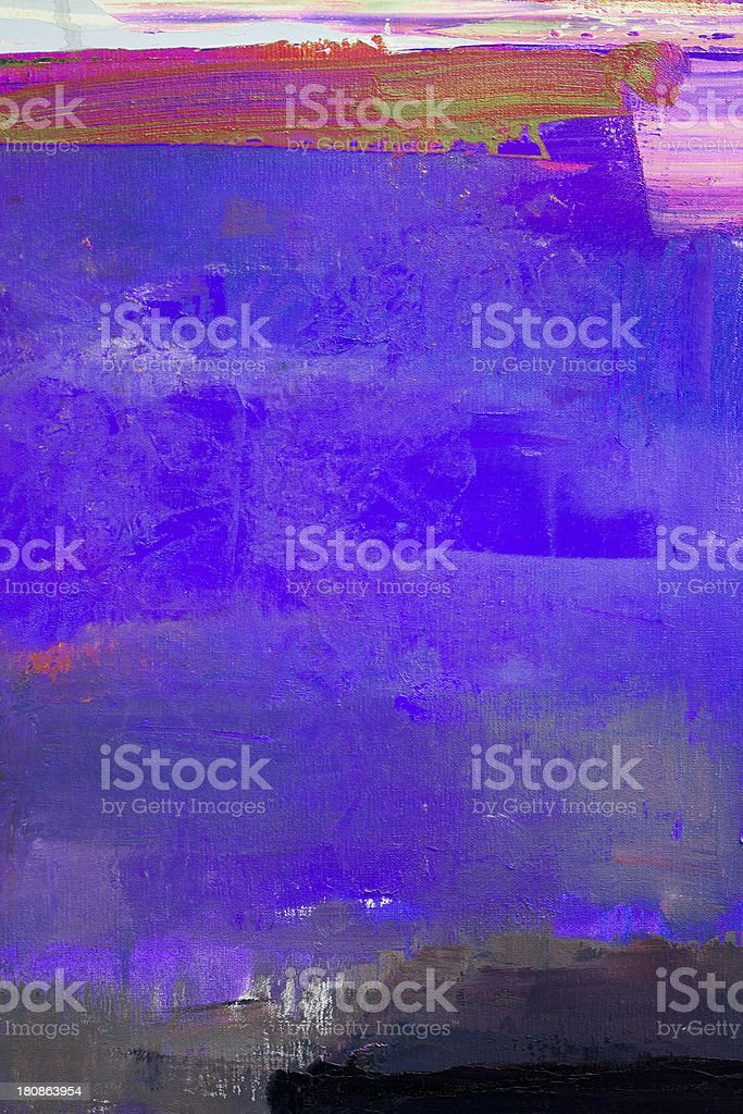 Abstract painted  blue and purple art backgrounds. royalty-free stock photo