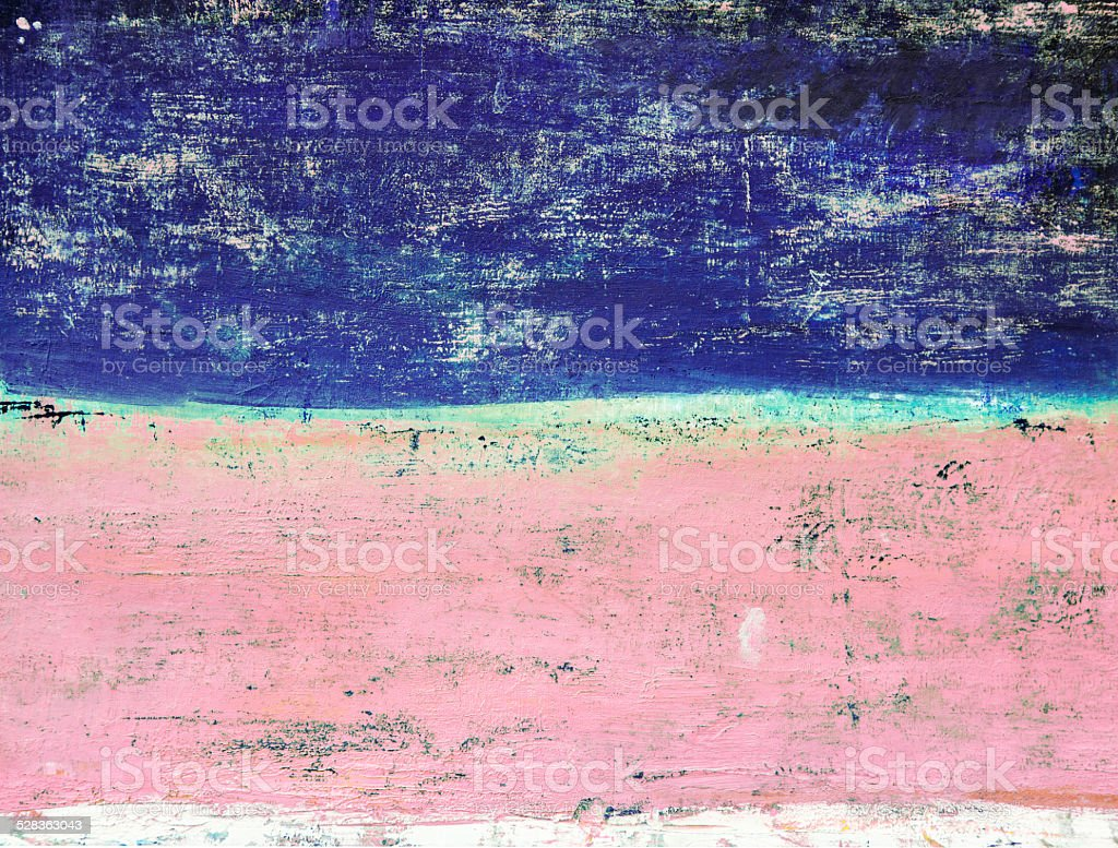 Abstract painted blue and purple art backgrounds. stock photo
