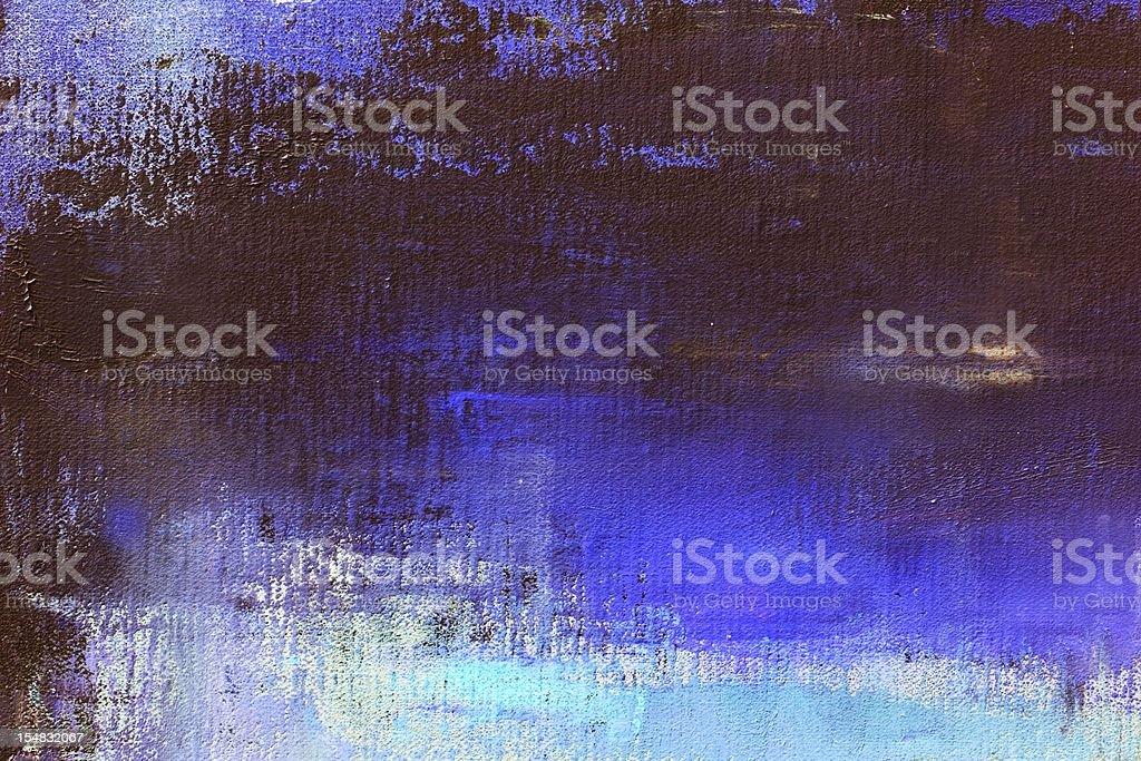 Abstract painted  blue art backgrounds. vector art illustration