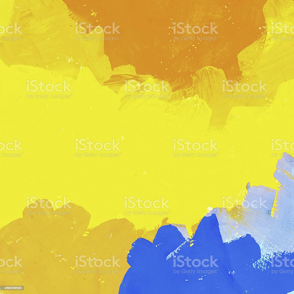 Abstract painted colorful watercolor background stock photo