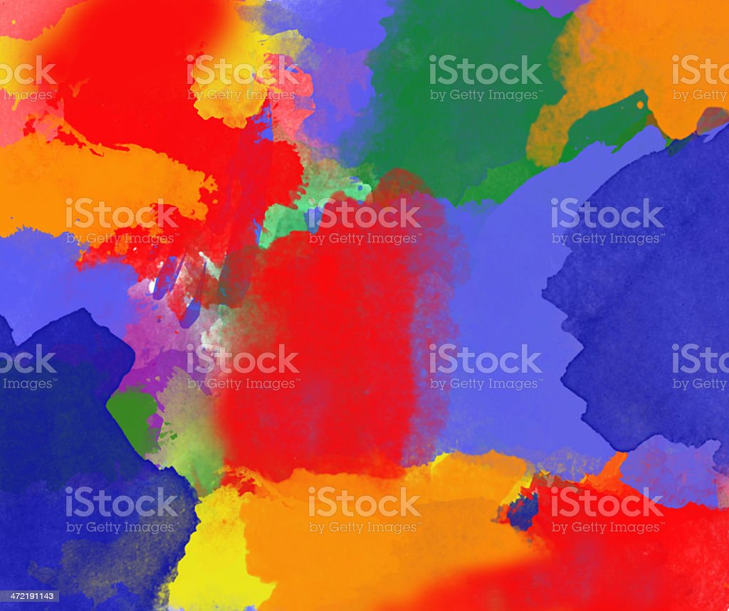 Abstract painted digital art backgrounds. stock photo