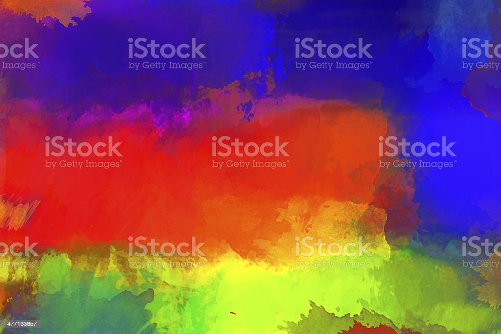 Abstract painted digital art backgrounds. royalty-free stock photo
