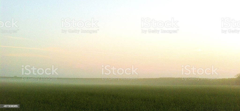 Abstract painted farmland stock photo