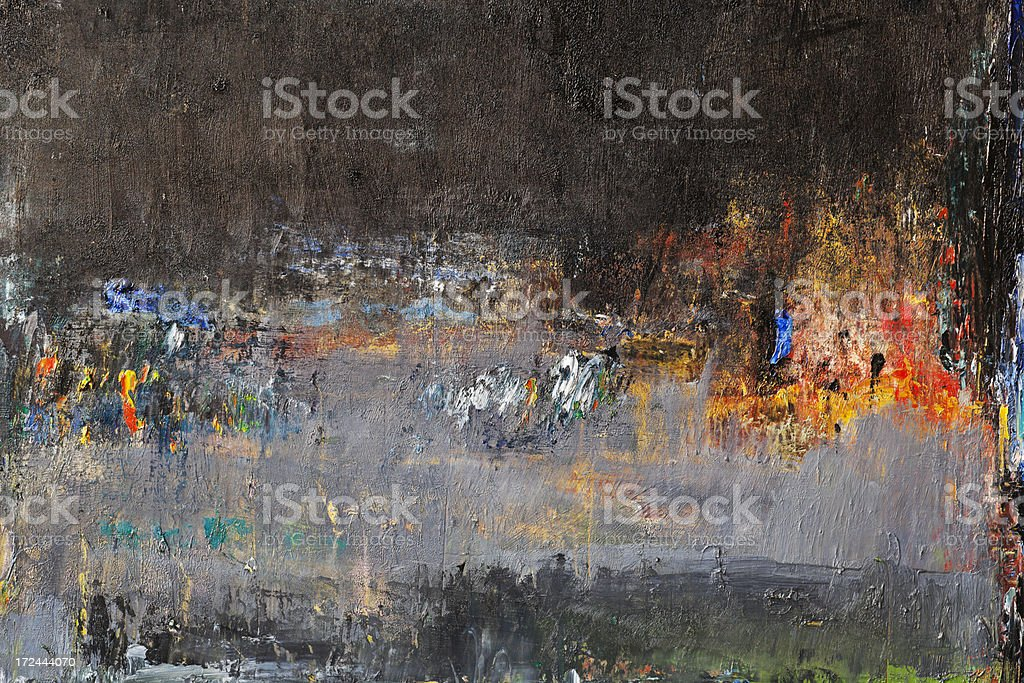 Abstract painted gray and black art backgrounds. royalty-free stock photo