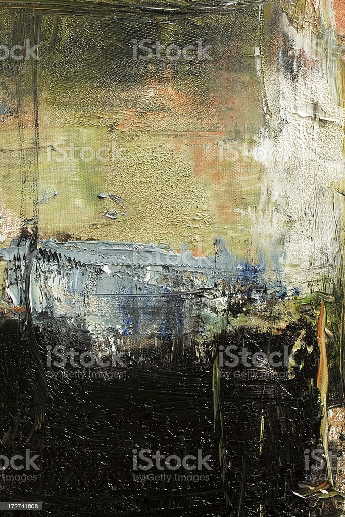 Abstract painted grayed out and black art backgrounds. royalty-free stock photo