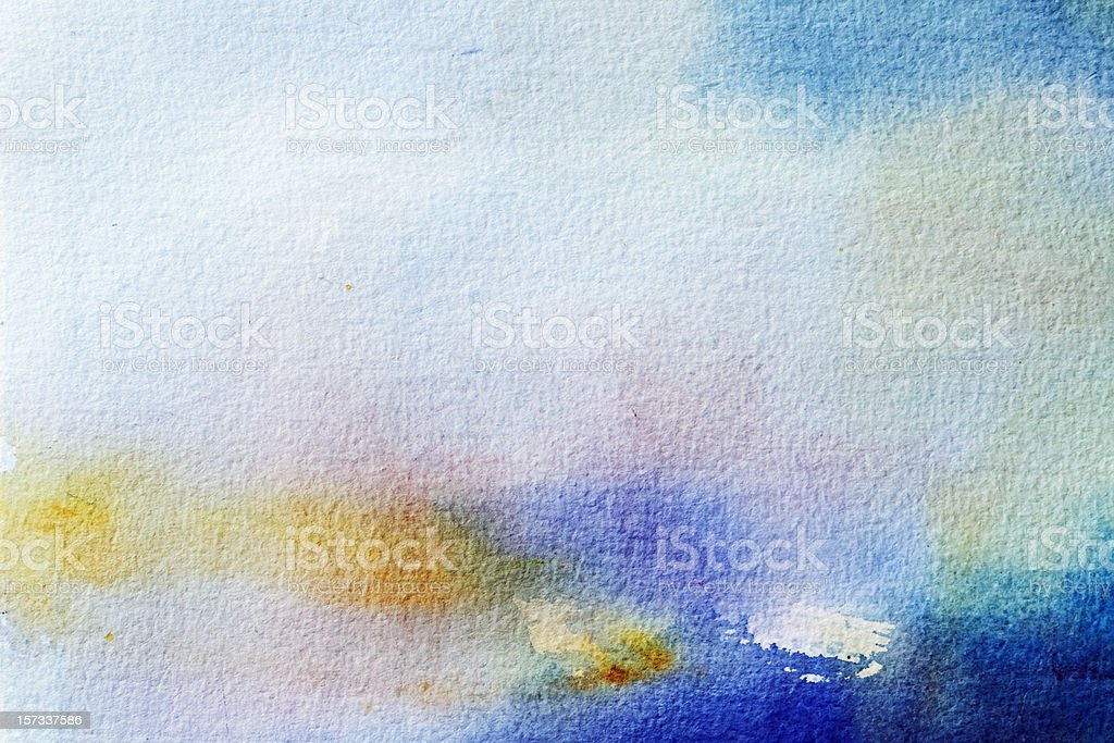 Abstract painted grayed out blue art backgrounds. royalty-free stock photo