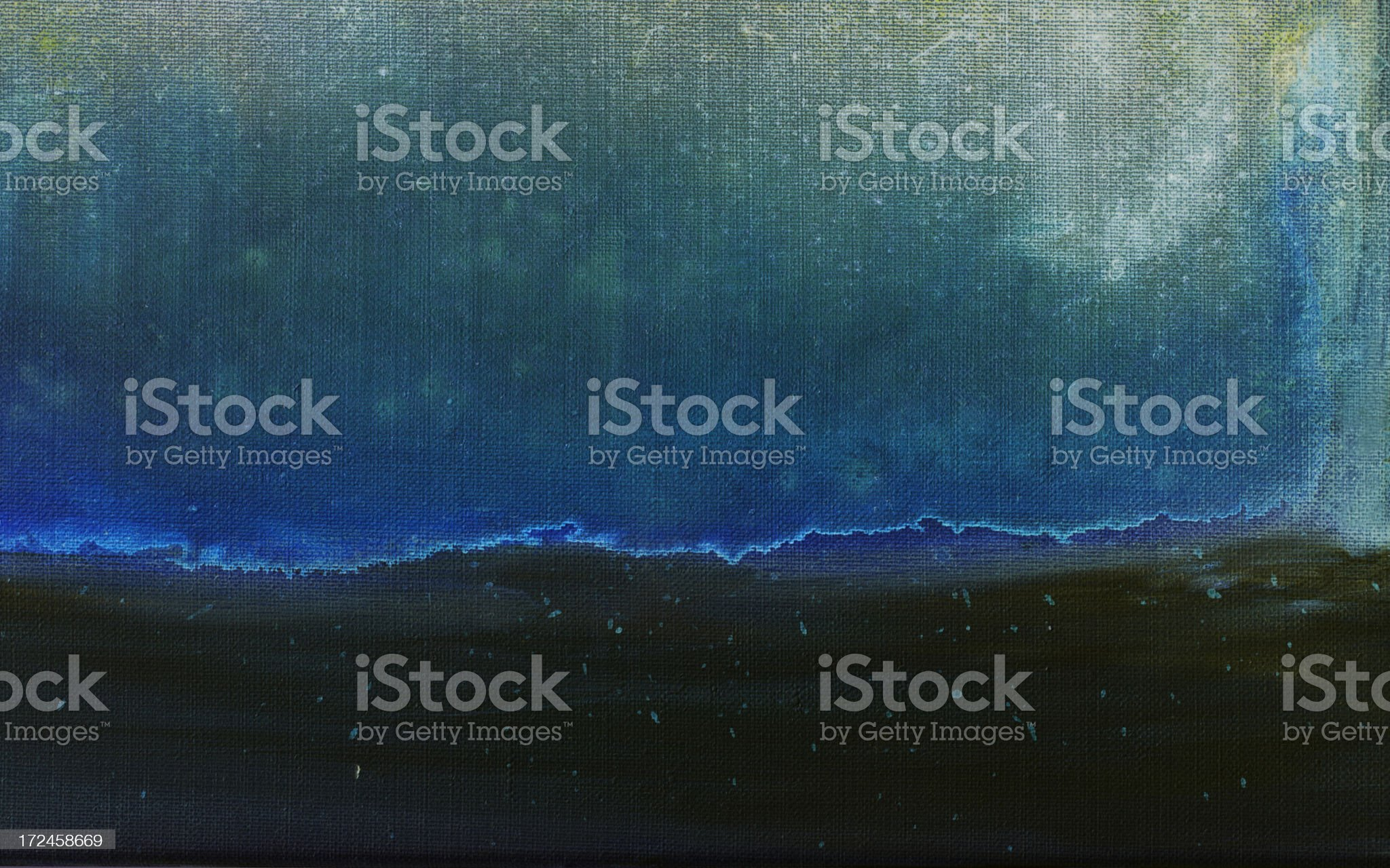 Abstract painted green and blue art backgrounds. royalty-free stock vector art