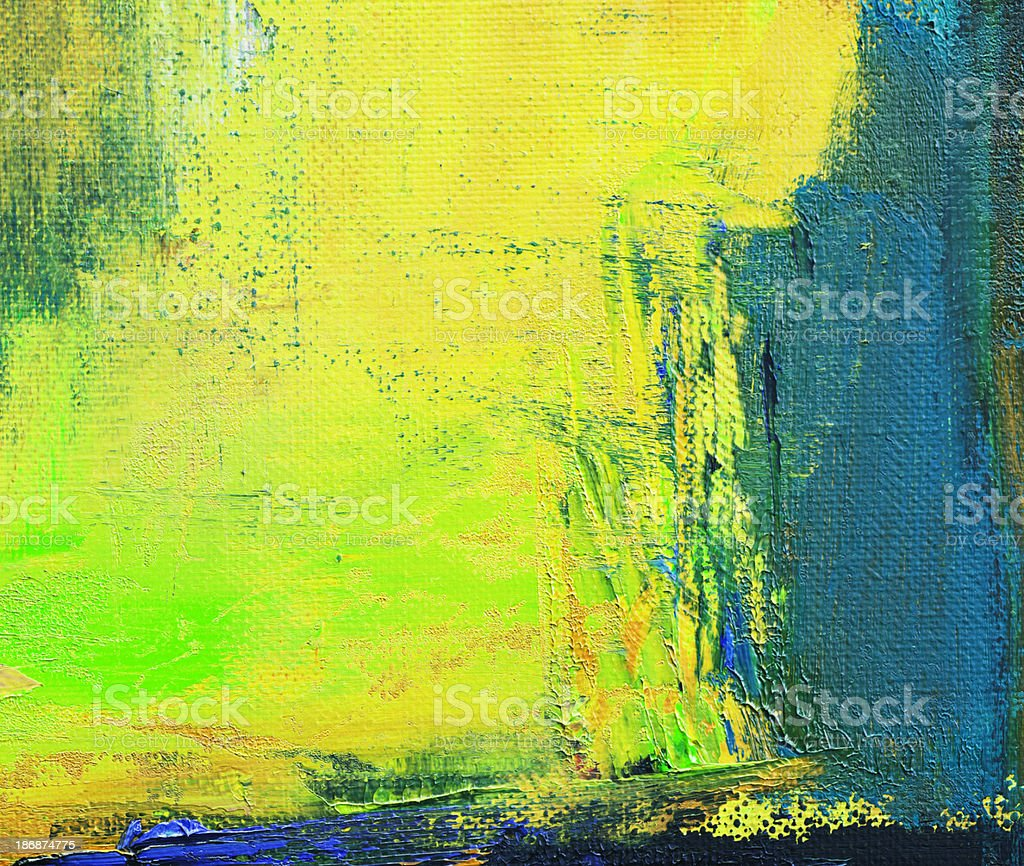 Abstract painted green art backgrounds. royalty-free stock vector art