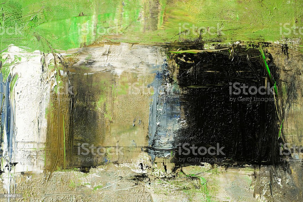 Abstract painted  green  painted background texture. royalty-free stock photo