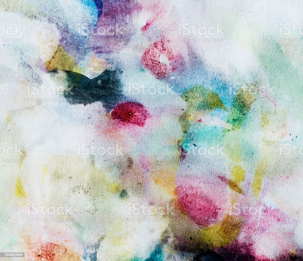 Abstract painted  multicolored art backgrounds. vector art illustration