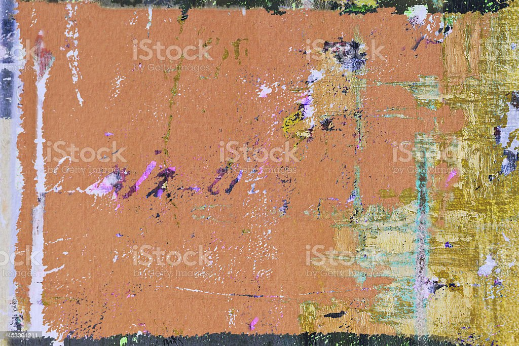 Abstract painted  ocher  art backgrounds. royalty-free stock photo