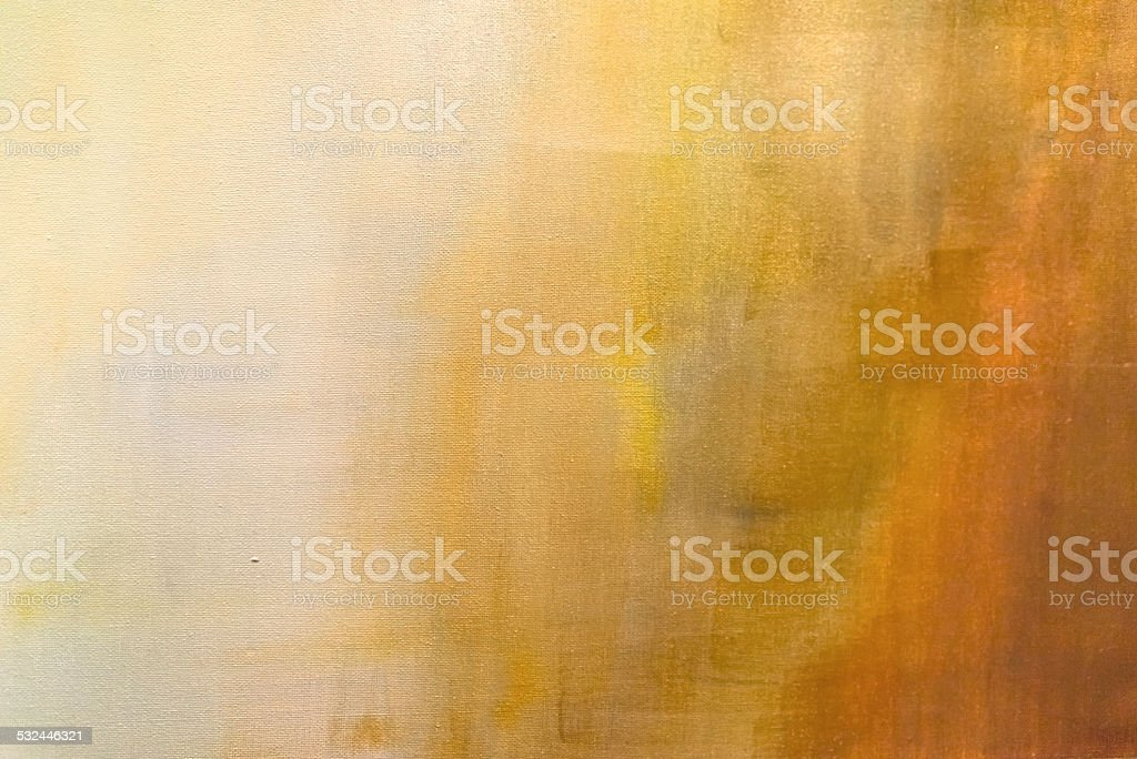 abstract painted orange background stock photo