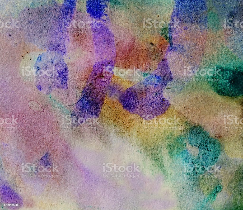 Abstract painted  pink and green art backgrounds. royalty-free stock photo