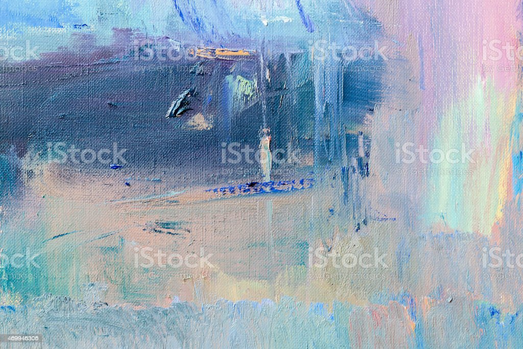 Abstract painted purple and blue textured  art backgrounds. stock photo