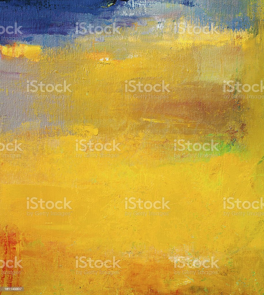 Abstract painted purple and green    art backgrounds. royalty-free stock photo