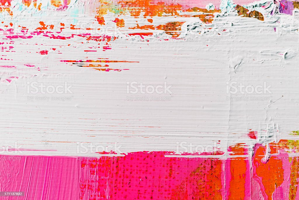 Abstract painted  purple and white art backgrounds. stock photo