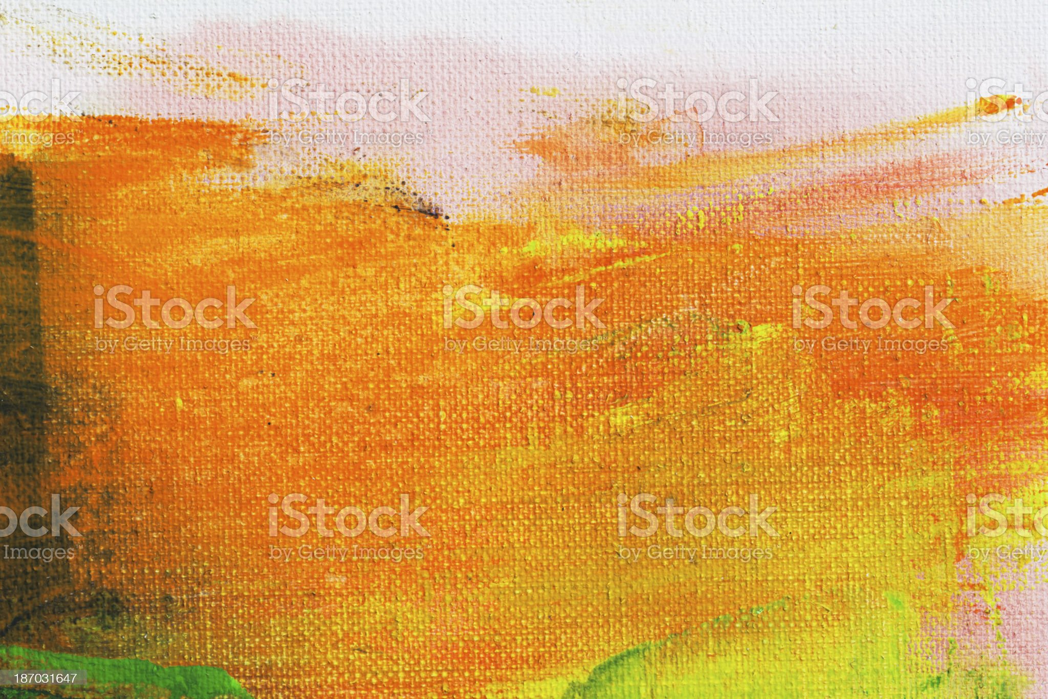 Abstract painted red and orange  art backgrounds. royalty-free stock vector art