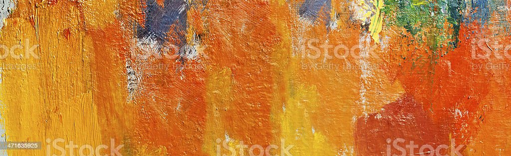 Abstract painted red and orange  art backgrounds. royalty-free stock photo