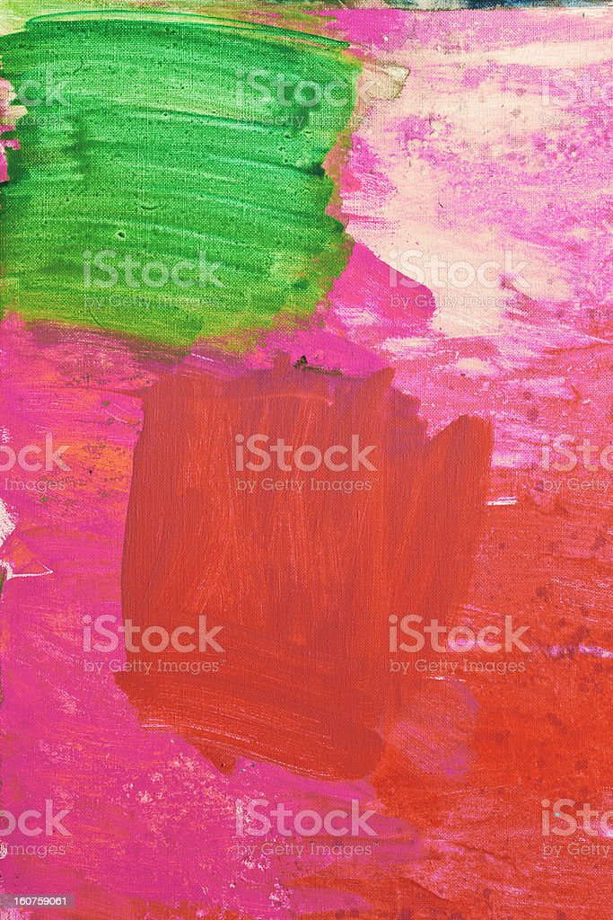 Abstract painted red art backgrounds. stock photo