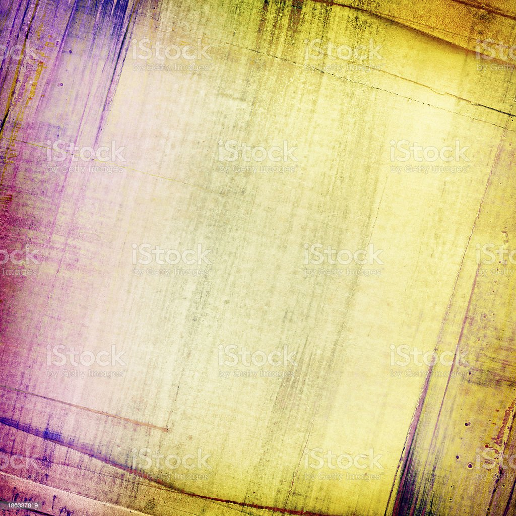 Abstract painted torn paper collage texture royalty-free stock photo