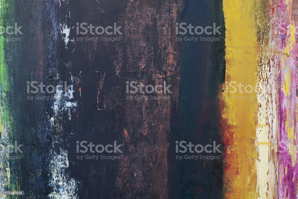 Abstract painted yellow and black art backgrounds. royalty-free stock photo