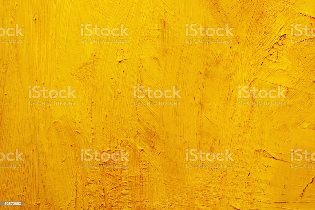 Abstract painted yellow art backgrounds. vector art illustration