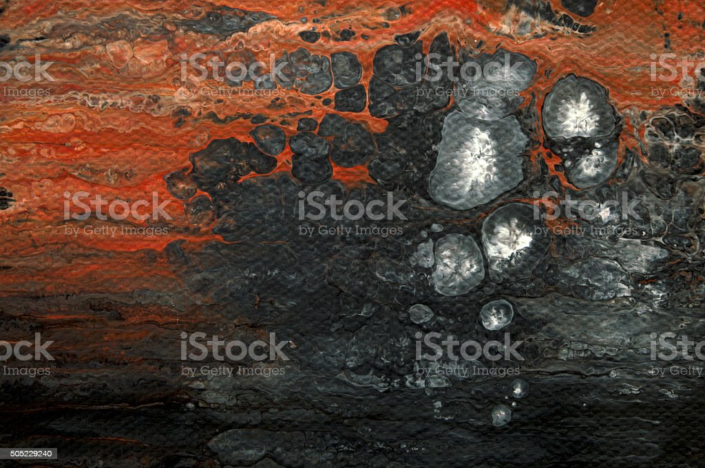 abstract painting - Illustration stock photo