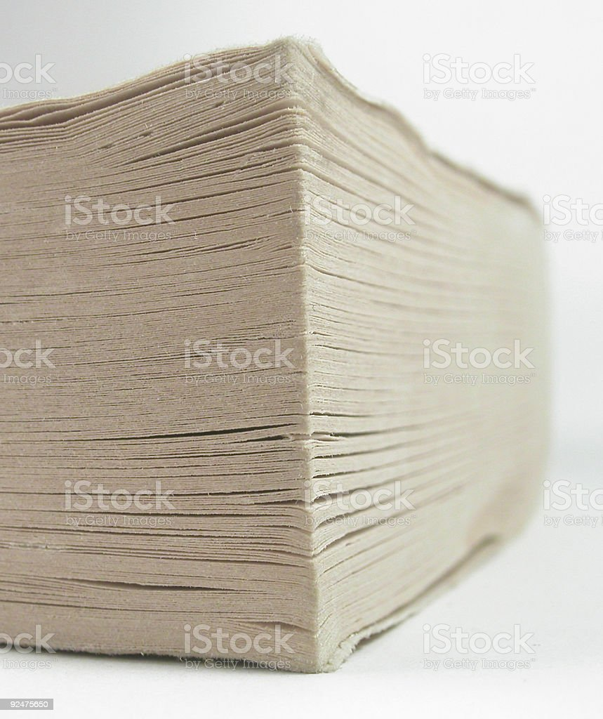 Abstract Paperback stock photo
