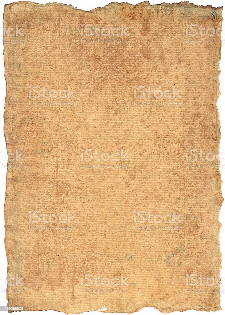 Abstract parchment royalty-free stock photo