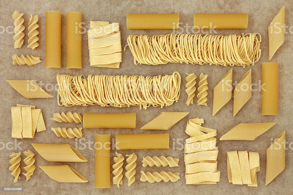 Abstract Pasta Background stock photo