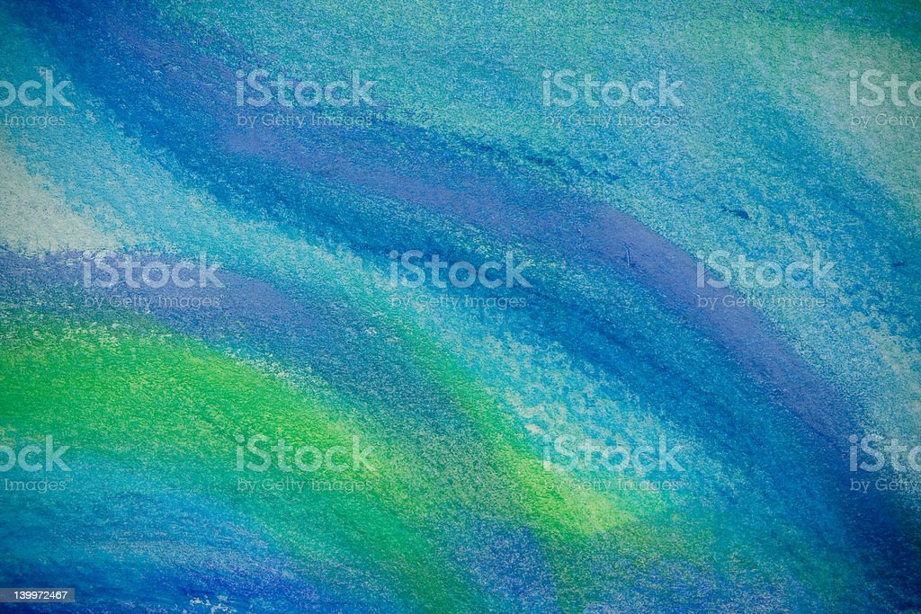 Abstract Pastel Drawing No. 2 stock photo