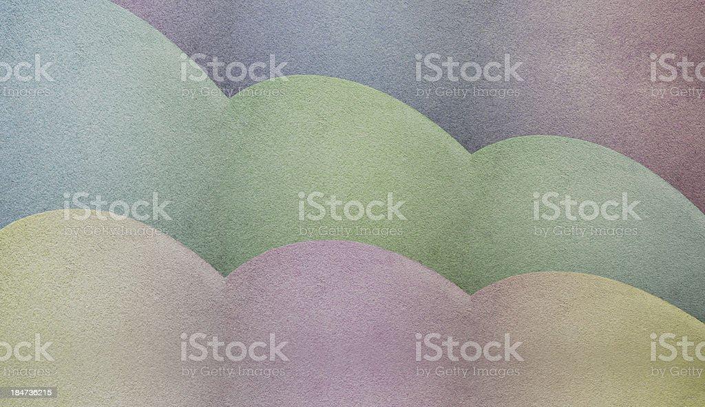 Abstract pastel shades stock photo