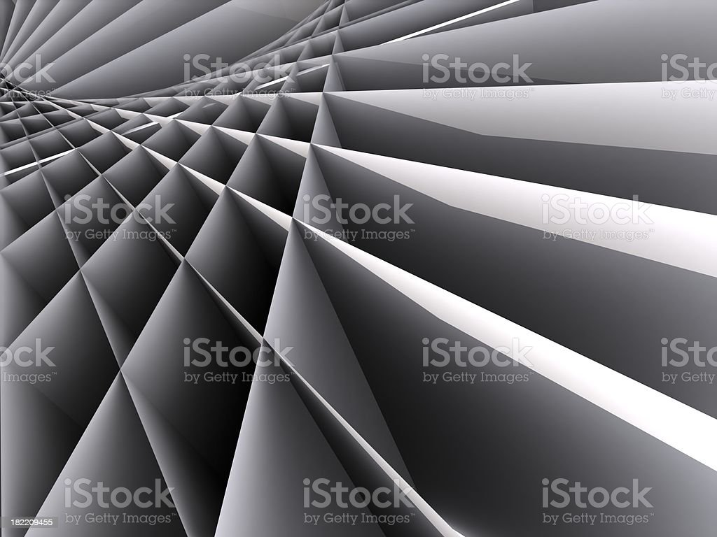 3D Abstract Pattern Background royalty-free stock photo
