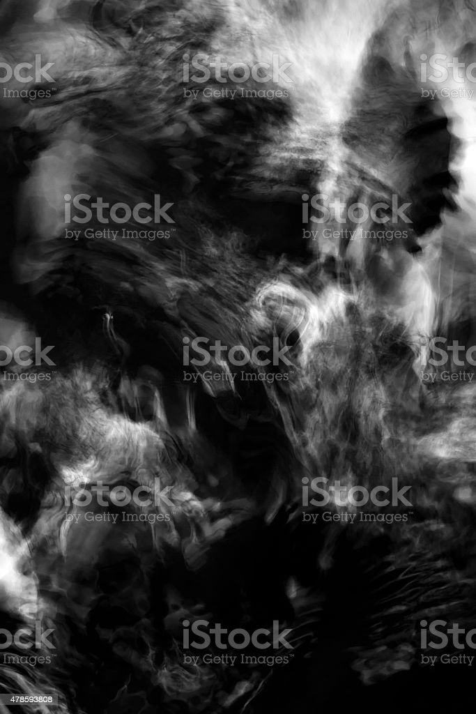 abstract pattern fantasy black and white stock photo