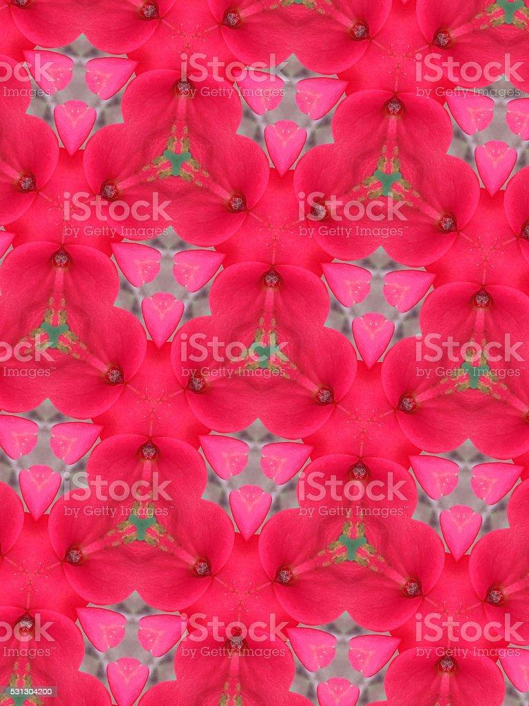 Abstract Pattern Kaleidoscope stock photo