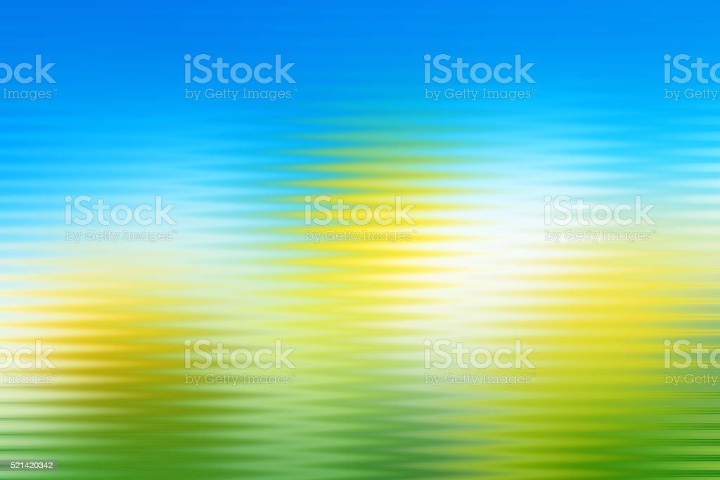 Abstract Pattern Lined Background Blue Yellow Green stock photo