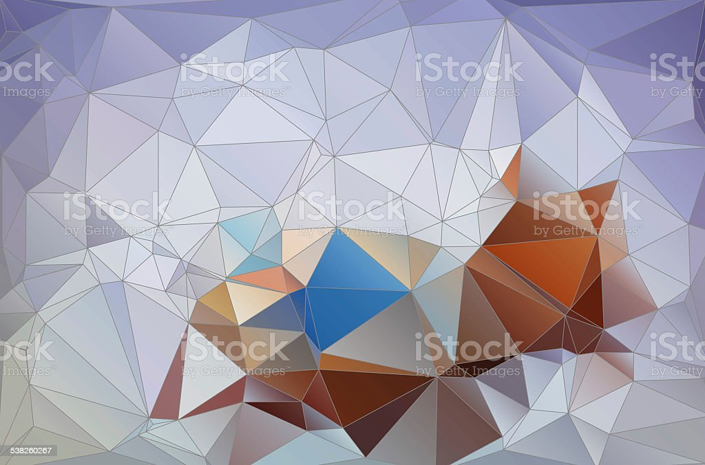 abstract pattern of triangles stock photo