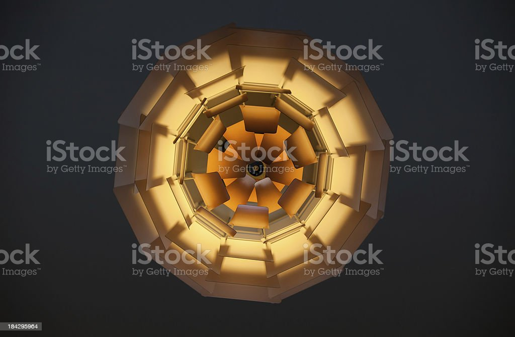 Abstract pendant light royalty-free stock photo