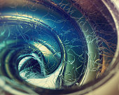 Abstract picture frame spiral