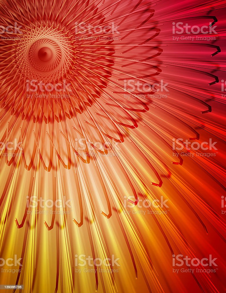 3D Abstract royalty-free stock photo