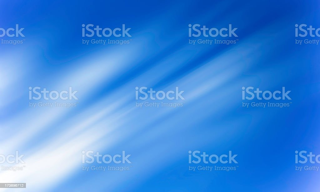Abstract picture of light clouds on blue sky royalty-free stock photo