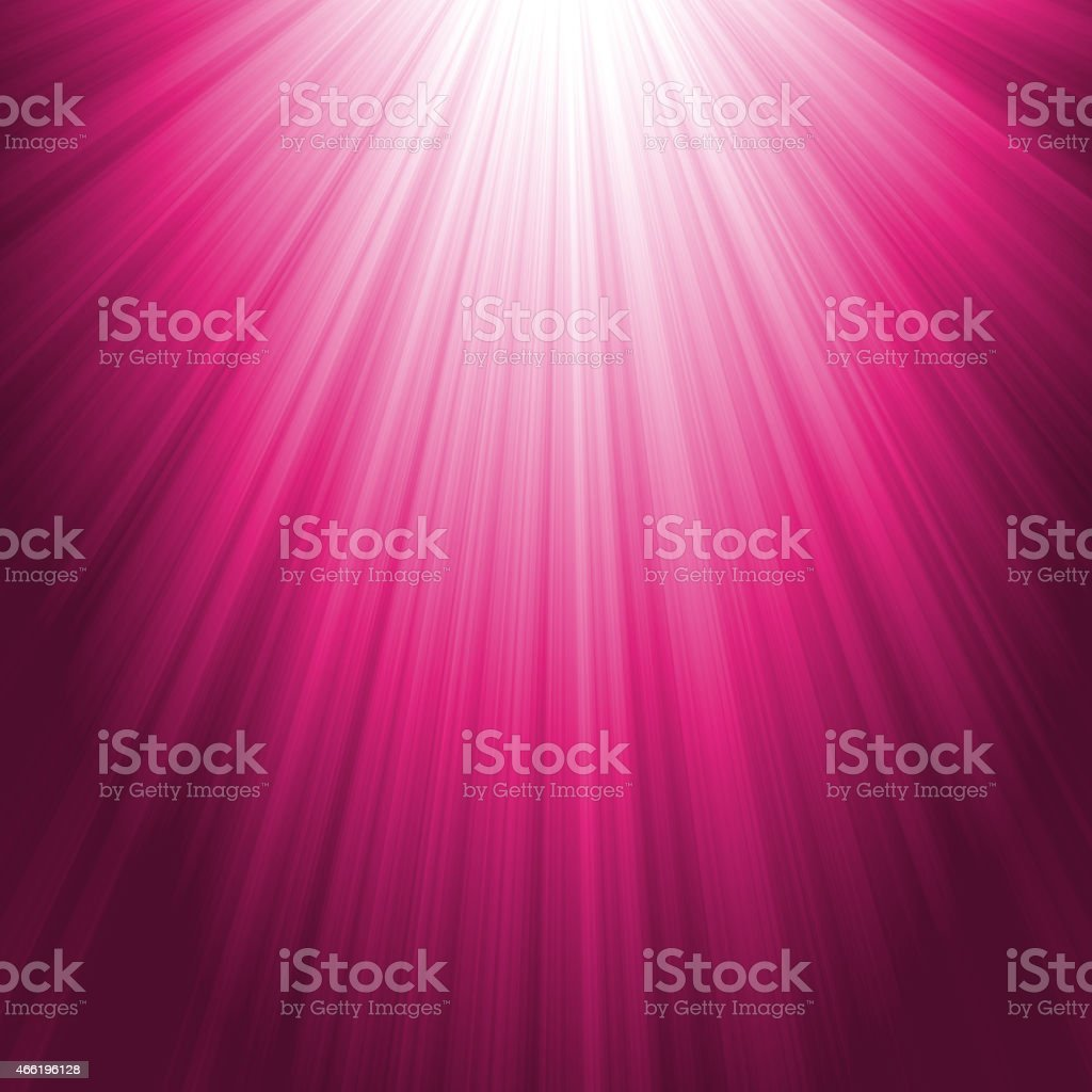 Abstract Pink Light Rays Background stock photo