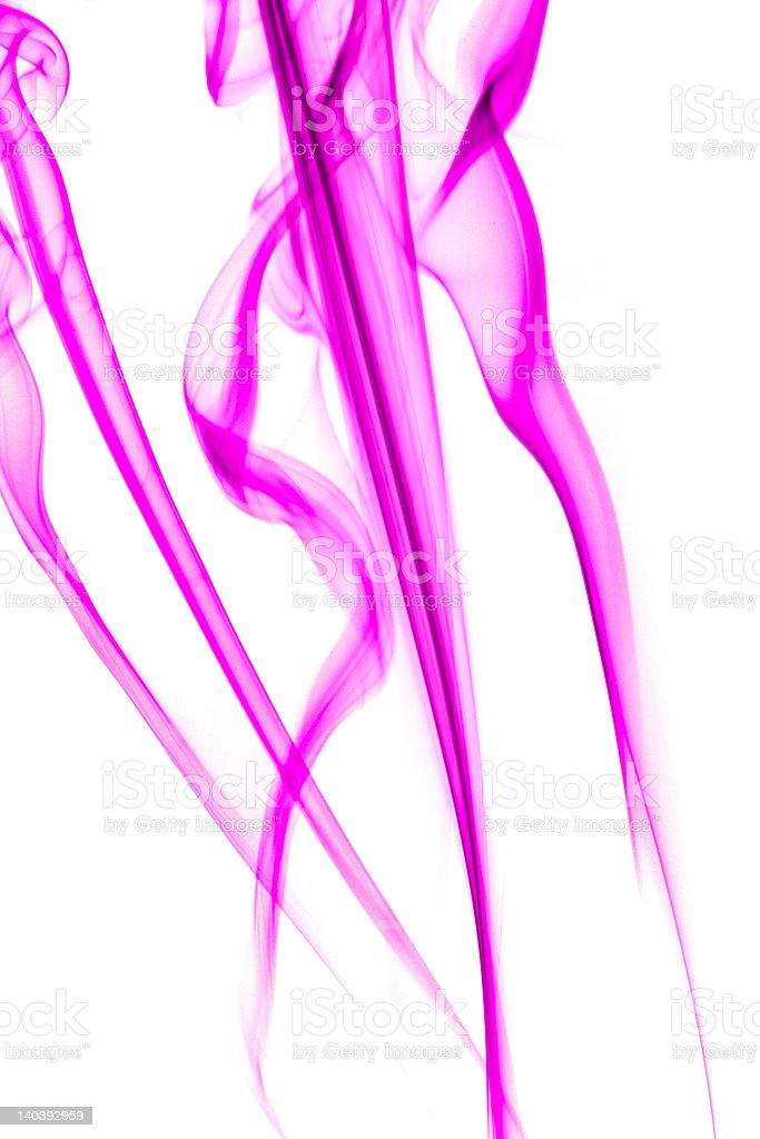 Abstract pink smoke royalty-free stock photo