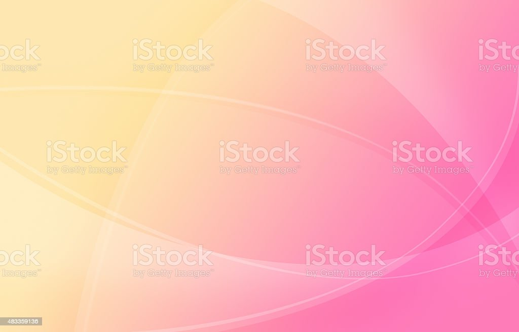 Abstract Pink-Yellow Background stock photo